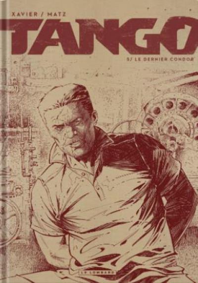 Couverture Tango tome 5 (éd. noir & blanc)