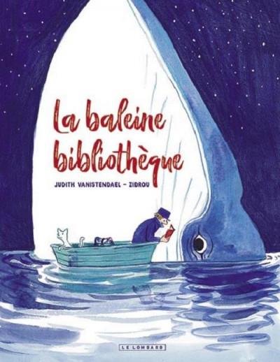 Couverture La baleine bibliothèque