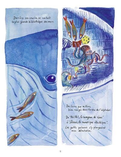 Page 6 La baleine bibliothèque