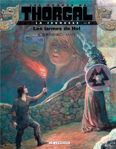 Couverture La jeunesse de Thorgal tome 9