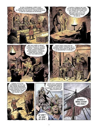 Page 6 La jeunesse de Thorgal tome 9