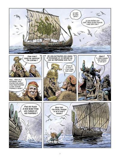Page 8 La jeunesse de Thorgal tome 9