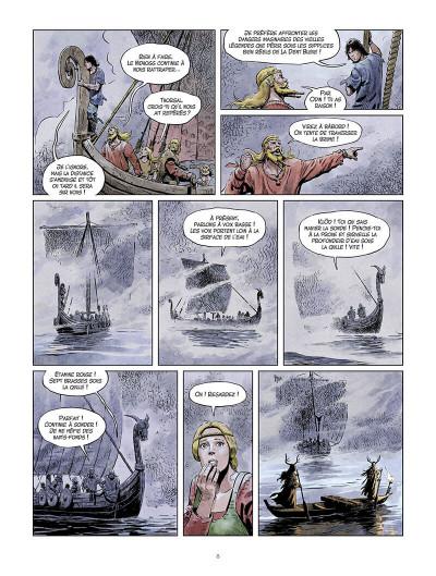 Page 9 La jeunesse de Thorgal tome 9