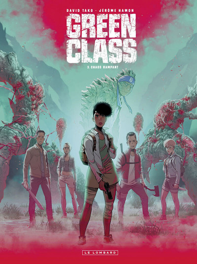 Couverture Green class tome 3