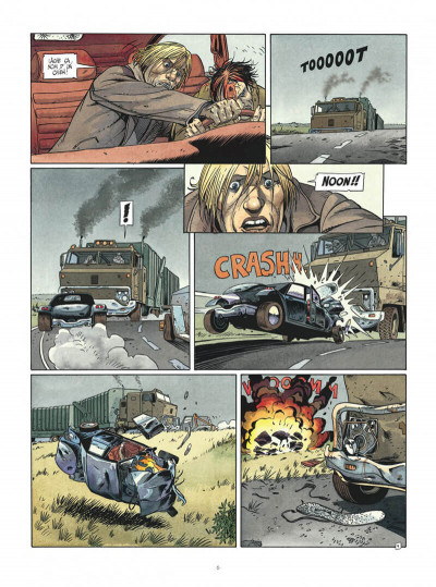 Page 6 Vlad - intégrale nouvelle version tome 1