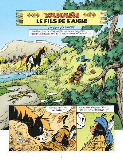 Page 3 Yakari tome 41