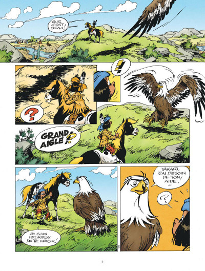 Page 5 Yakari tome 41