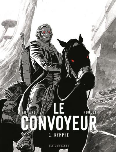 Couverture Le convoyeur tome 1 (N&B)