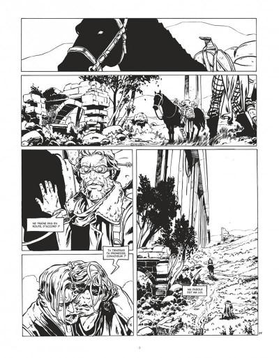 Page 3 Le convoyeur tome 1 (N&B)
