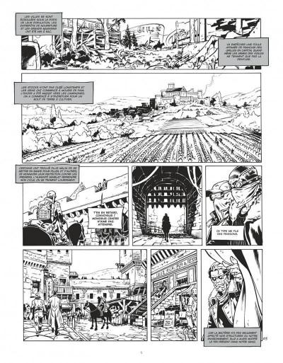 Page 5 Le convoyeur tome 1 (N&B)