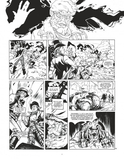 Page 8 Le convoyeur tome 1 (N&B)