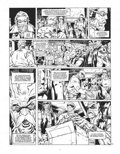Page 9 Le convoyeur tome 1 (N&B)