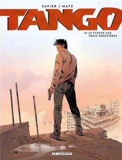 Couverture Tango tome 6 + ex-libris offert