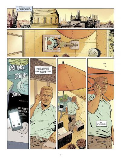 Page 4 Tango tome 6 + ex-libris offert