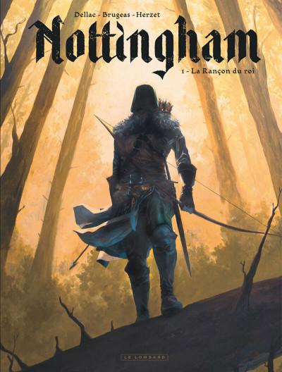 Couverture Nottingham tome 1 + ex-libris signé offert