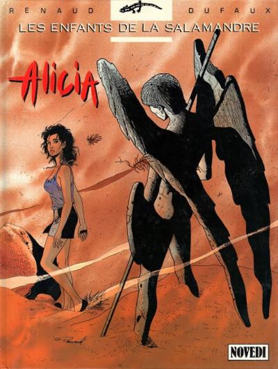 Couverture Les enfants de la Salamandre tome 3 - Alicia