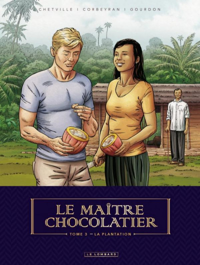 Couverture Le maître chocolatier tome 3