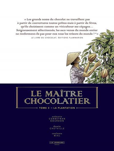 Page 2 Le maître chocolatier tome 3