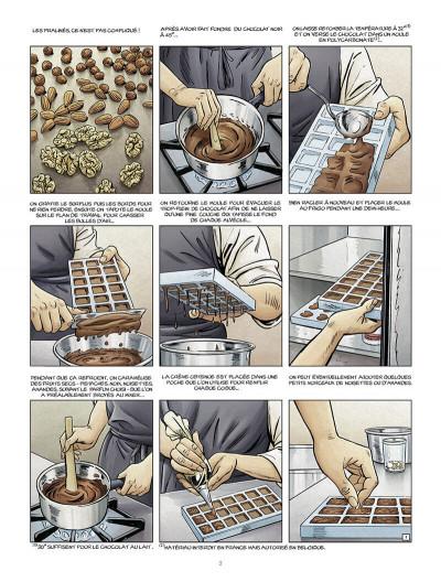 Page 4 Le maître chocolatier tome 3