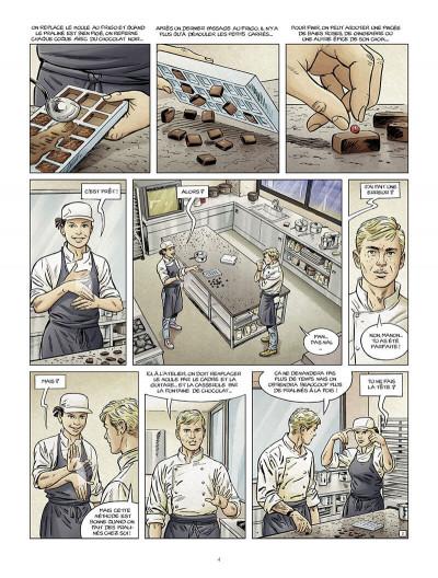 Page 5 Le maître chocolatier tome 3