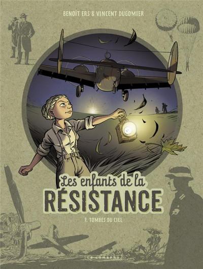 Couverture Les enfants de la résistance tome 7