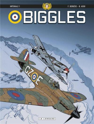 Couverture Biggles - intégrale tome 1