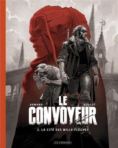 Couverture Le convoyeur (édition n&b) tome 2