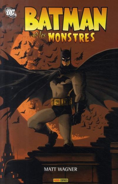 Couverture batman et les monstres