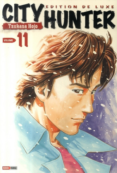 Couverture city hunter tome 11