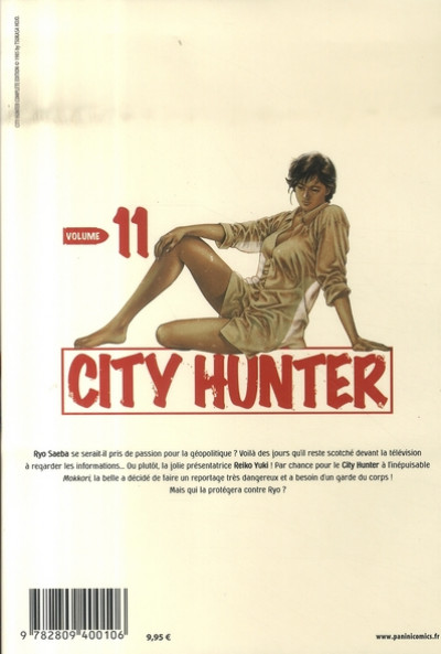 Dos city hunter tome 11
