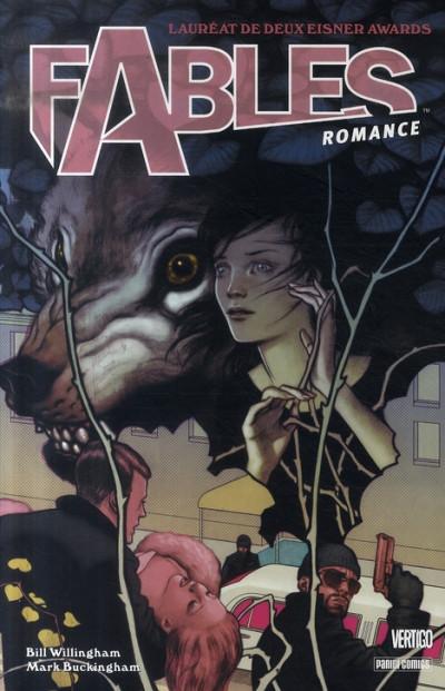 Couverture Fables tome 3 - Romance