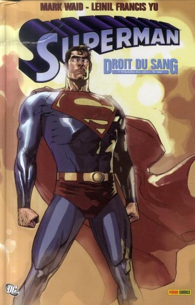 Couverture superman ; droit du sang