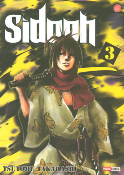 Couverture sidooh tome 3