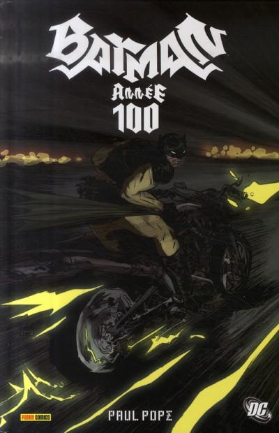 Couverture batman ; année 100
