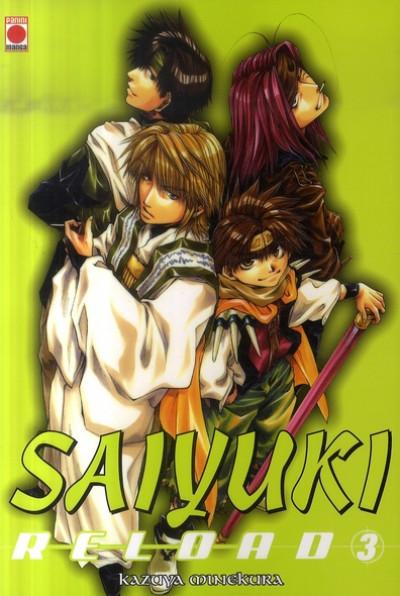 Couverture saiyuki reload tome 3