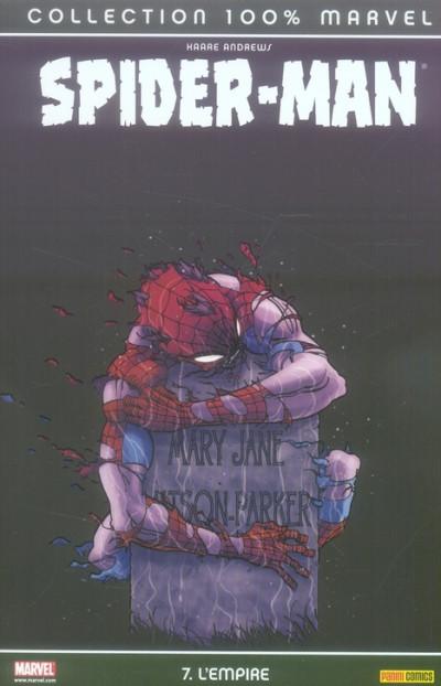 Couverture spider-man tome 7 - l'empire