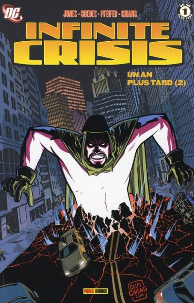 Couverture infinite crisis tome 5 - Un an plus tard : Tome 2