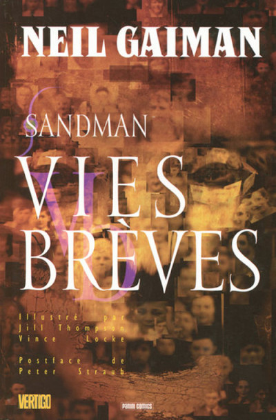 Couverture sandman tome 7 - vies brèves