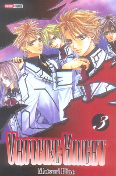 Couverture vampire knight tome 3