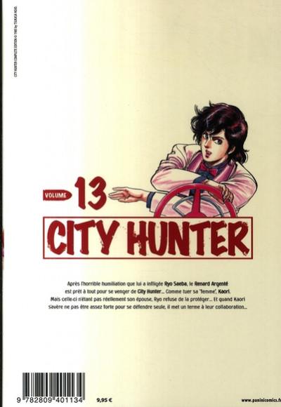Dos city hunter tome 13