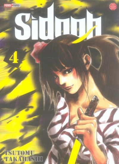 Couverture sidooh tome 4