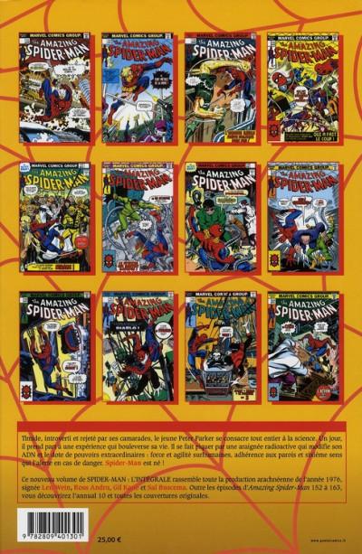 Dos spider-man - intégrale tome 14 - 1976