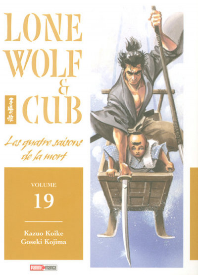 Couverture lone wolf & cub tome 19 - les quatre saisons de la mort