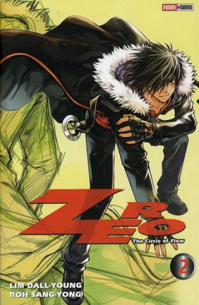Couverture zero, the circle of flow tome 2