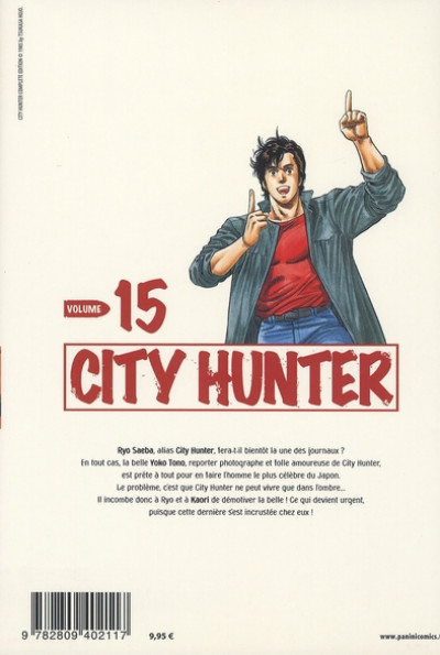Dos city hunter tome 15