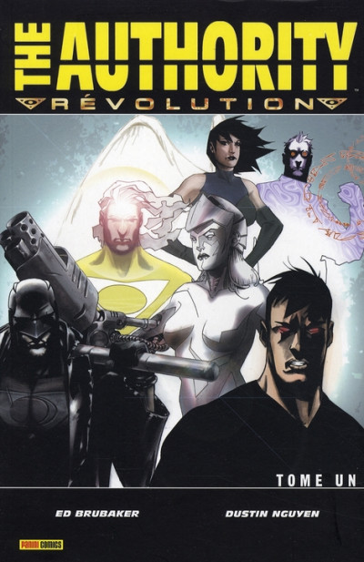 Couverture the authority revolution tome 1