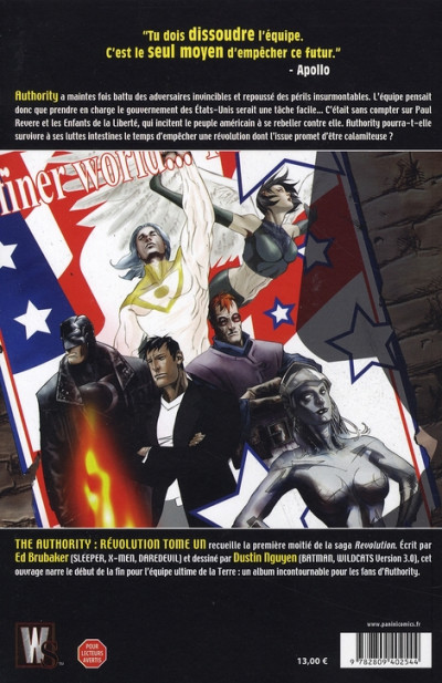 Dos the authority revolution tome 1