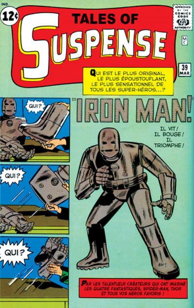 Couverture iron man - intégrale tome 1
