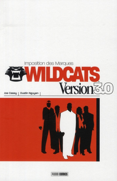 Couverture wildcats 3.0 tome 1