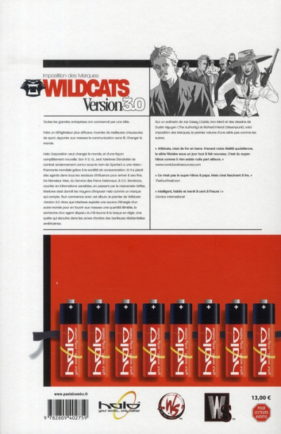 Dos wildcats 3.0 tome 1